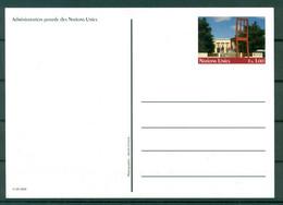 Nations Unies Genève  2009 - Entier Postal  F.s. 1,00 - Cartas