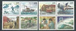 Norvège 1996 N°1175/1182 Neufs** 350 Anniversaire De La Poste - Unused Stamps