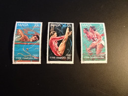 K45626-  Set MNH Malta 1984 - MI. 710-712 - Olympics Los Angeles - Summer 1984: Los Angeles