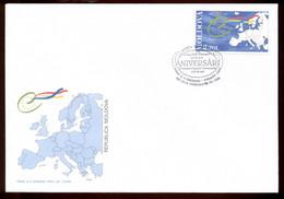 Moldova 1999 Council Of Europe FDC - Moldova