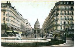 75005 PARIS - Le Panthéon Et La Rue Soufflot, Vus De La Place Edmond Rostand - Distrito: 05