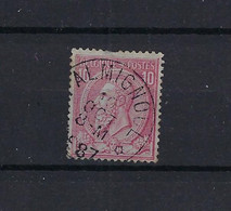 N°46 (ntz) GESTEMPELD *Falmignoul* 1887 COBA € 8,00 - 1884-1891 Leopold II.