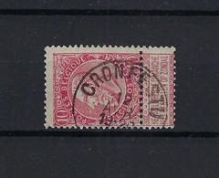 N°58 (ntz) GESTEMPELD Cronfestu COBA € 8,00 - 1893-1900 Schmaler Bart
