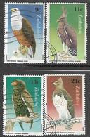 Zimbabwe   1984   4 Diff Eagles Used  2016 Scott Value $3.95 - Zimbabwe (1980-...)