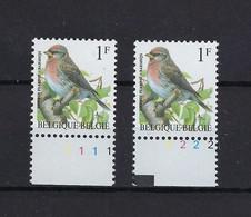 N°2457P8 Buzin Pltn°set MNH ** POSTFRIS ZONDER SCHARNIER SUPERBE - 1985-.. Vogels (Buzin)