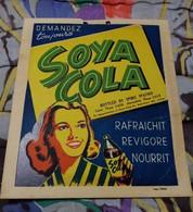 Egypt , Alexandria , V Rare Big Vintage Poster Of Soya Cola , Dolab - Posters