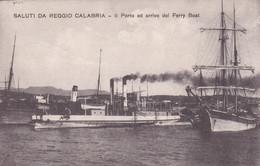 ITALIE(CALABRIA) BATEAU - Sin Clasificación
