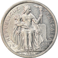 Monnaie, Nouvelle-Calédonie, 2 Francs, 1987, Paris, SUP+, Aluminium, KM:14 - New Caledonia