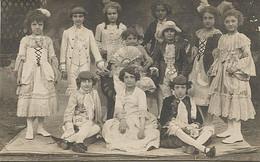 X122635 RARE LOT CARTE POSTALE PHOTO CONCERT DE CHARITE DU 11/06/1924 EDITEUR PHOTO LUMINA CAHORS - Cahors