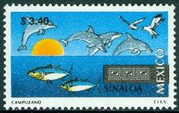 MEXICO 1995 TOURISM DEFINITIVES, 3.40p SINALOA, MARINE LIFE** (MNH) - Mexico