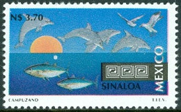 MEXICO 1993 TOURISM DEFINITIVES, 3.70p SINALOA, MARINE LIFE** (MNH) - Messico