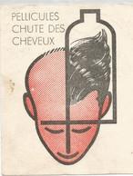 XX //  French Old Blotting / SUPERBE !! à Saisir Achat Immédiat @ Buvard Ancien Cheveux Pellicules COIFFURE - S