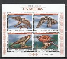 ST2020 2015 NIGER FAUNA BIRDS FAUCONS FALCONS 1KB MNH - Eagles & Birds Of Prey