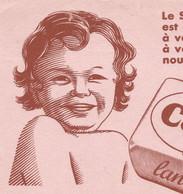 XX  //  French Old Blotting / SUPERBE !! à Saisir Achat Immédiat @ Buvard Ancien Savon Bébé Cadum Lanoline Bain - S