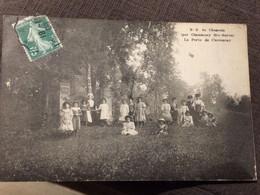 Notre Dame Du Chesnois La Porte De Chancenay  ,groupe De Jeunes Filles En 1908 - Autres Communes