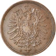 Monnaie, GERMANY - EMPIRE, Wilhelm I, 2 Pfennig, 1875, Munich, TTB, Cuivre, KM:2 - 2 Pfennig