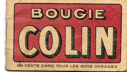 Bloc-notes De Garage, Ancien. Bougie Colin. - Werbung