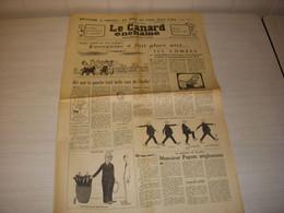 CANARD ENCHAINE 2407 07.12.1966 VASQUEZ IONESCO Louis LECOIN Jacques DUQUESNE - Politics