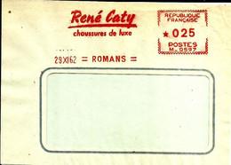 Ema Havas M 1962  Rene Caty Chaussures De Luxe  Usine Cuir  26 Romans  C33/12 - Otros
