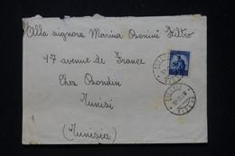 ITALIE - Enveloppe De Pescia Pour La Tunisie En 1945 Avec Cachet De Censure Au Verso  - L 81380 - Marcofilía