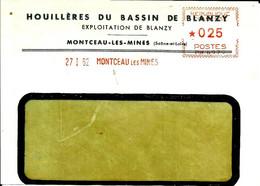 Ema Havas M 1962 Houilleres Du Bassin De Blanzy  Charbon Metier  71 Montceau Les Mines C33/19 - Other