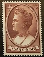 GREECE 1956  Mi:GR 640, Sn:GR 590, Yt:GR 626 ** - Unused Stamps