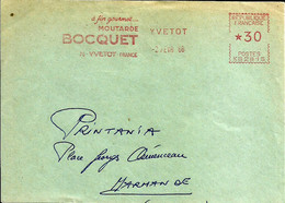 Ema Havas M 1966 Moutarde Bocquet  Agriculture  Metiers 76 Yvetot C33/31 - Alimentazione