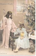 Tannenbaum, Christmas Tree, Sapin De Noël, Weihnachtsbaum, Children, Enfants, Angel, Ange, Engel, Presents, Doll, Poupée - Altri