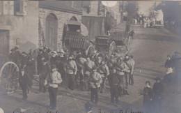 Granville 50 Manche  Carte Photo  Carnaval 1904   Bataillon De Chausey Rare  Rte De Coutances   Cpa Précurseur - Granville