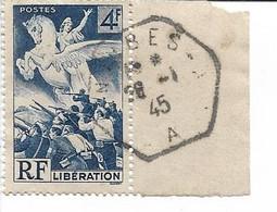 FRANCE - Oblitéré - Libération N° 669 - Oblitération Du 28 Janvier 1945 - Unclassified