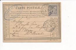 Carte Précurseur Année 1877 GILBIN Forge De MONTOT 52 Haute Marne Pour Danelle Maitre De Forges Au Buisson Par Wassy - Other Municipalities