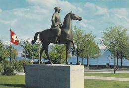 (ST668) - LAUSANNE-OUCHY (Svizzera) - Le Monument Du General Henri Guisan - VD Vaud