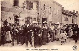 """Les Scènes Villageoises - """" Une Noce """" - - Huwelijken"""