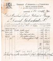 54-D.Liebschut & Cie..Conserves & Confitures..Lunéville.(Meurthe-et-Moselle)...1902 - Alimentare