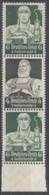 DR S 222, Postfrisch**,  Nothilfe: Berufsstände 1934 - Zusammendrucke