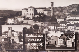 Cartolina - Saluti Da Rivalba Torinese - 1969 - Unclassified