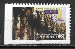 France 2011 Timbre Adhésif Neuf N°559A Amiens à La Faciale - Adhésifs (autocollants)