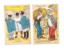 11884 - Lot De 10 CPA Humoristiques, Ces Bons Normands, - Basse-Normandie