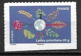 France 2011 Timbre Adhésif Neuf N°537A Terre à La Faciale - Adhésifs (autocollants)
