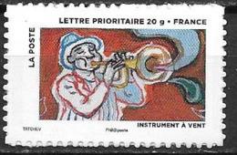 France 2013 Timbre Adhésif Neuf N°897A Trompettiste à La Faciale - Adhésifs (autocollants)