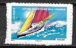 France 2013 Timbre Adhésif Neuf N°894A Voilier à La Faciale - Adhésifs (autocollants)