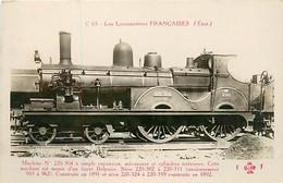 LES LOCOMOTIVES FRANCAISES - MACHINE SERIE C 65 - Eisenbahnen