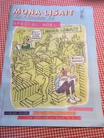 Cabu Duduche Publicité Mona Lisait 2006 état Superbe - Politics