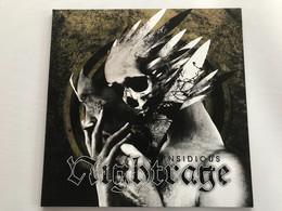NIGHTRAGE - Insidious - LP 400 Ex - Hard Rock & Metal