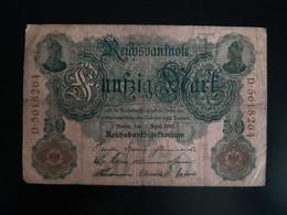 Allemagne - Germany 21-04-1910 Billet 50 Mark - 50 Mark