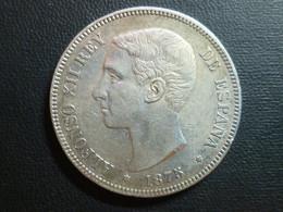 Spagna - Alfonso XII Rey - 5 Pesetas 1875 (75) - KM# 671 - Otros