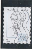 FRANCE 2020 RENE GUY CADOU OBLITERE YT 5381 - Used Stamps