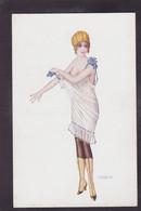 CPA Bertiglia Femme Girl Women Glamour érotisme Non Circulé - Bertiglia, A.