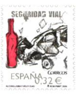 Ref. 233388 * MNH * - SPAIN. 2009. ROAD SAFETY . SEGURIDAD VIAL - Automobili