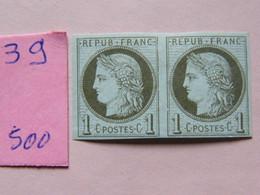 Paire  Bordeaux  No 39 NEUF * - Ceres